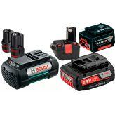 Аккумуляторы и зарядные устройства для электроинструмента и садовой техники